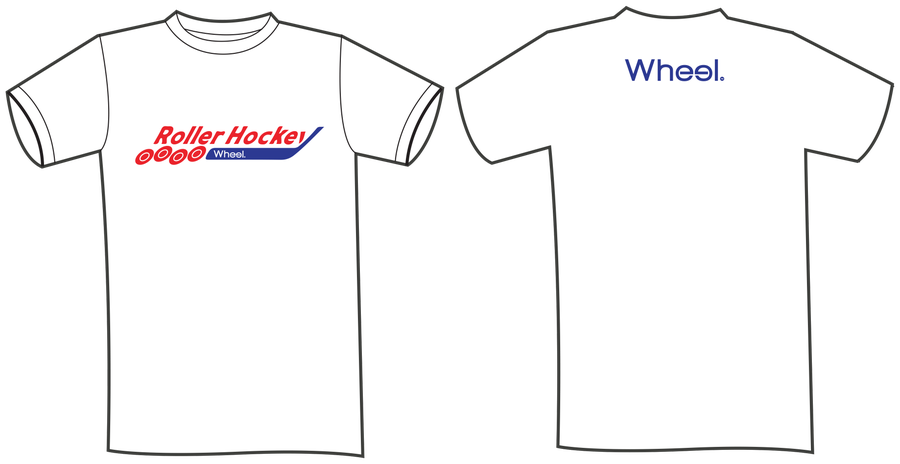 Image of The Old School Roller Hockey Tee