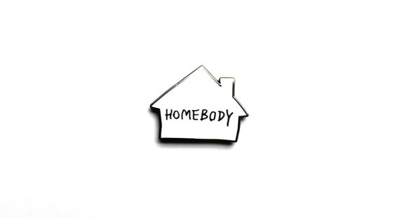 "Image of ""Homebody"" Lapel Pin"