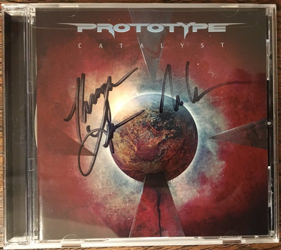 "Image of Prototype ""Catalyst"" Autographed CD + FREE T-Shirt"