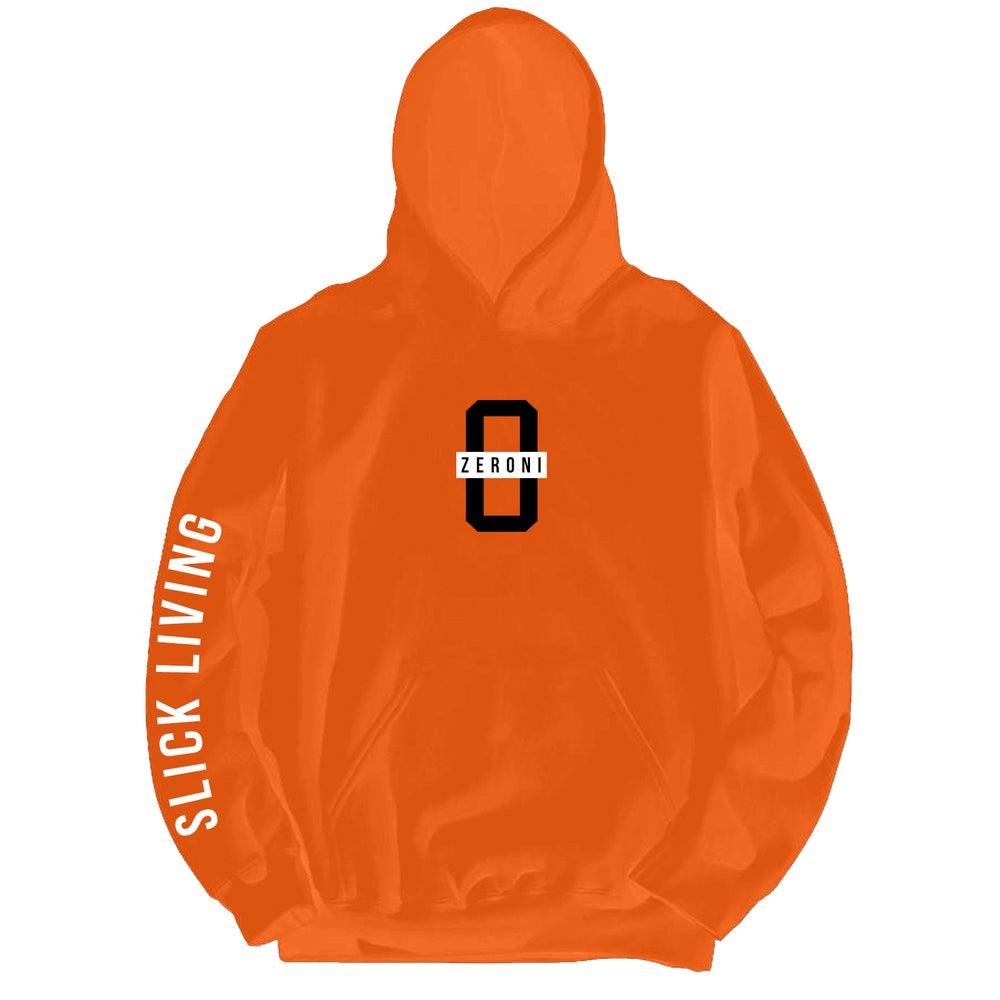 Image of Orange TEAM ZERONI Pullover Hoodie | Exclusive Release