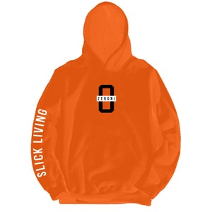 Image of Orange TEAM ZERONI Pullover Hoodie | Exclusive Release