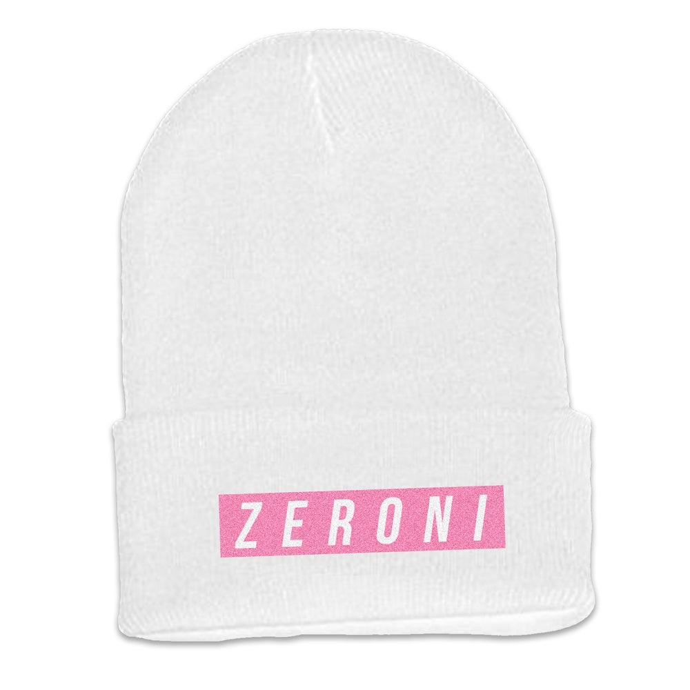 Image of Pink Zeroni's Girl Beanie | Exclusive Release