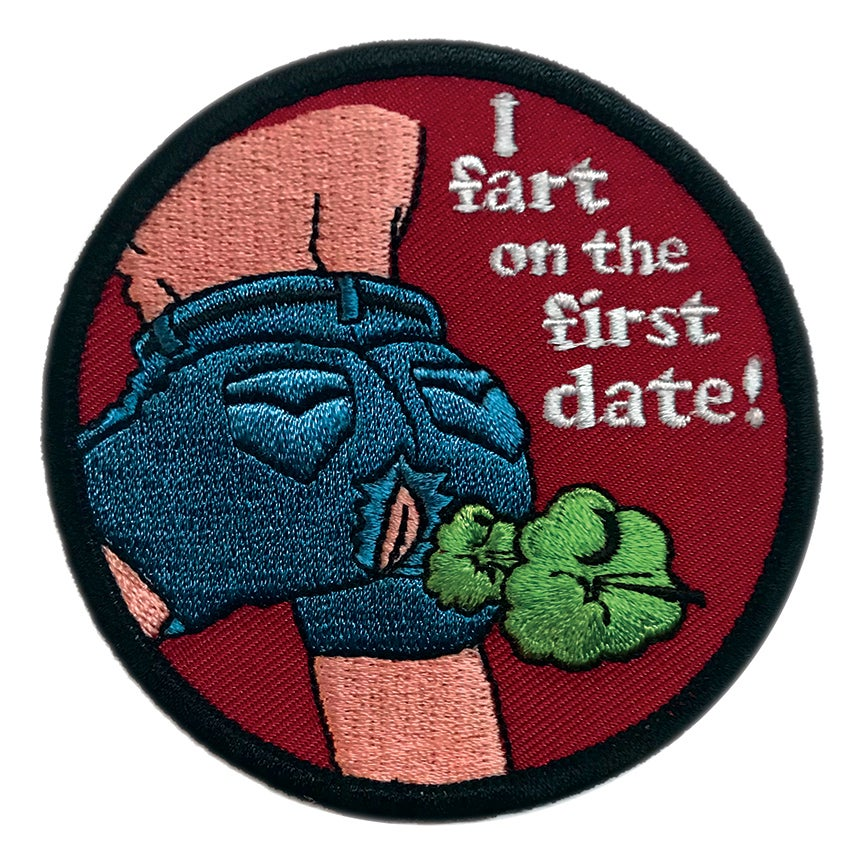 Image of I Fart on the First Date! Patch