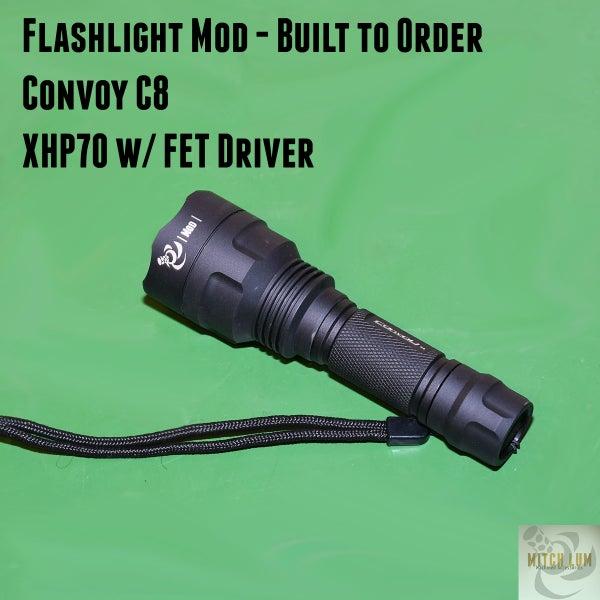 Image of Flashlight Mod - Convoy C8