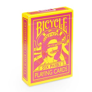 """Image of """"SEX PISTOLS"""" BICYCLE PLAYING CARDS"""