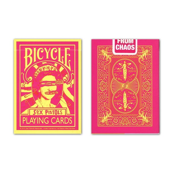 "Image of ""SEX PISTOLS"" BICYCLE PLAYING CARDS"