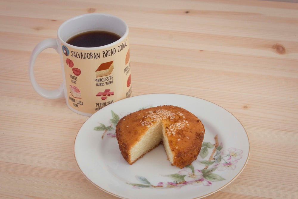 Image of Salvadoran Bread Zodiac Coffee Mug