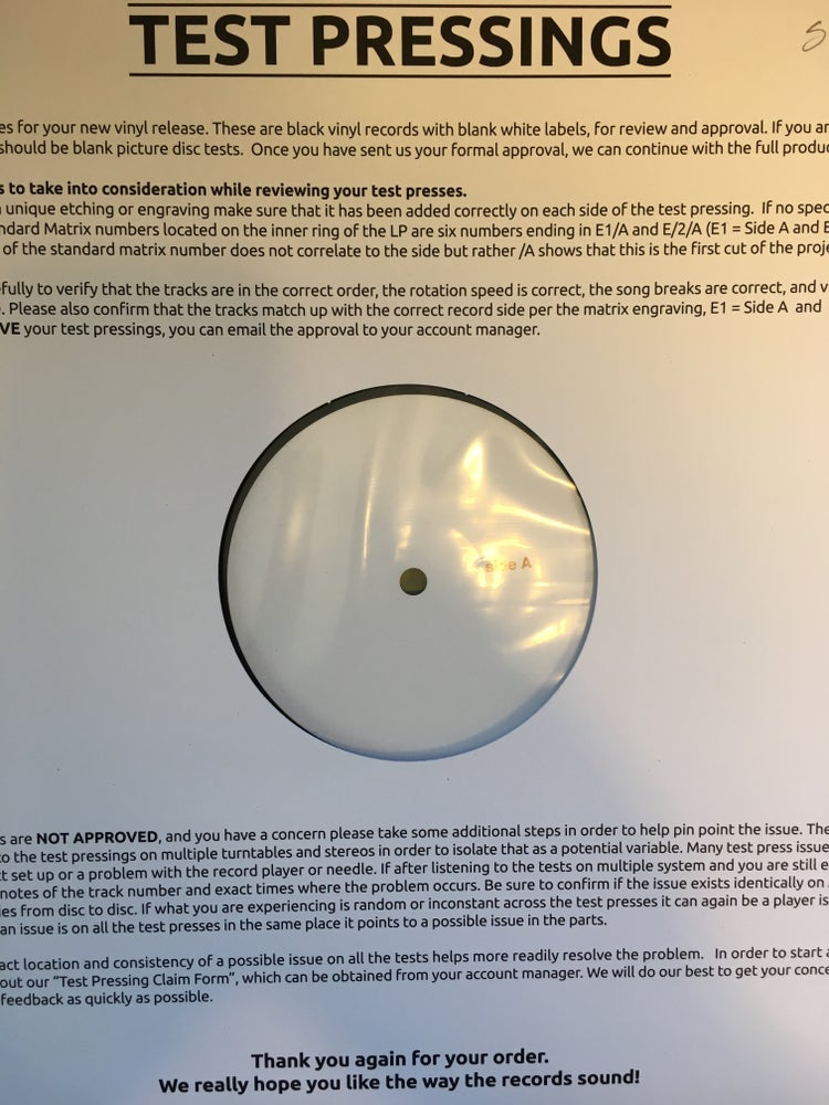 Image of Plainride - Return of the Jackalope 2xLP TEST PRESSING