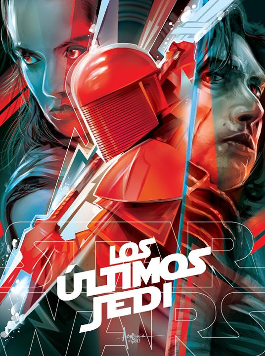 Image of LOS ULTIMOS JEDI- 18w x 24h Edition:25 2017
