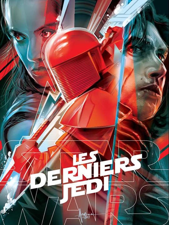 Image of LES DERNIERS JEDI 18w x 24h Edition 15 - 2017