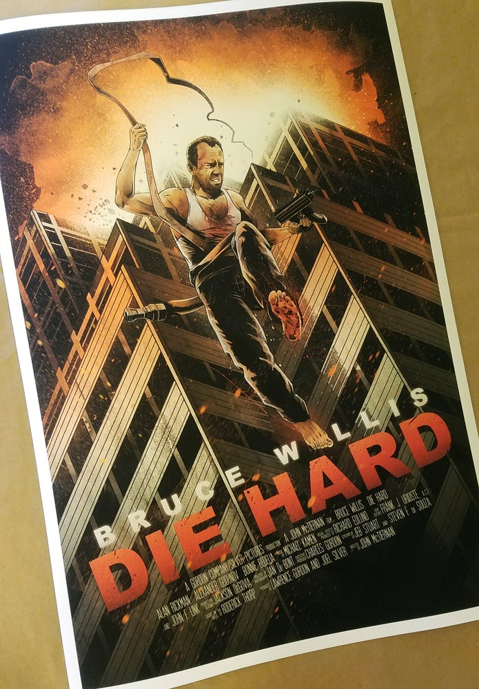 "Image of ""Yipee Ki Yay"" - inspired by Die Hard"