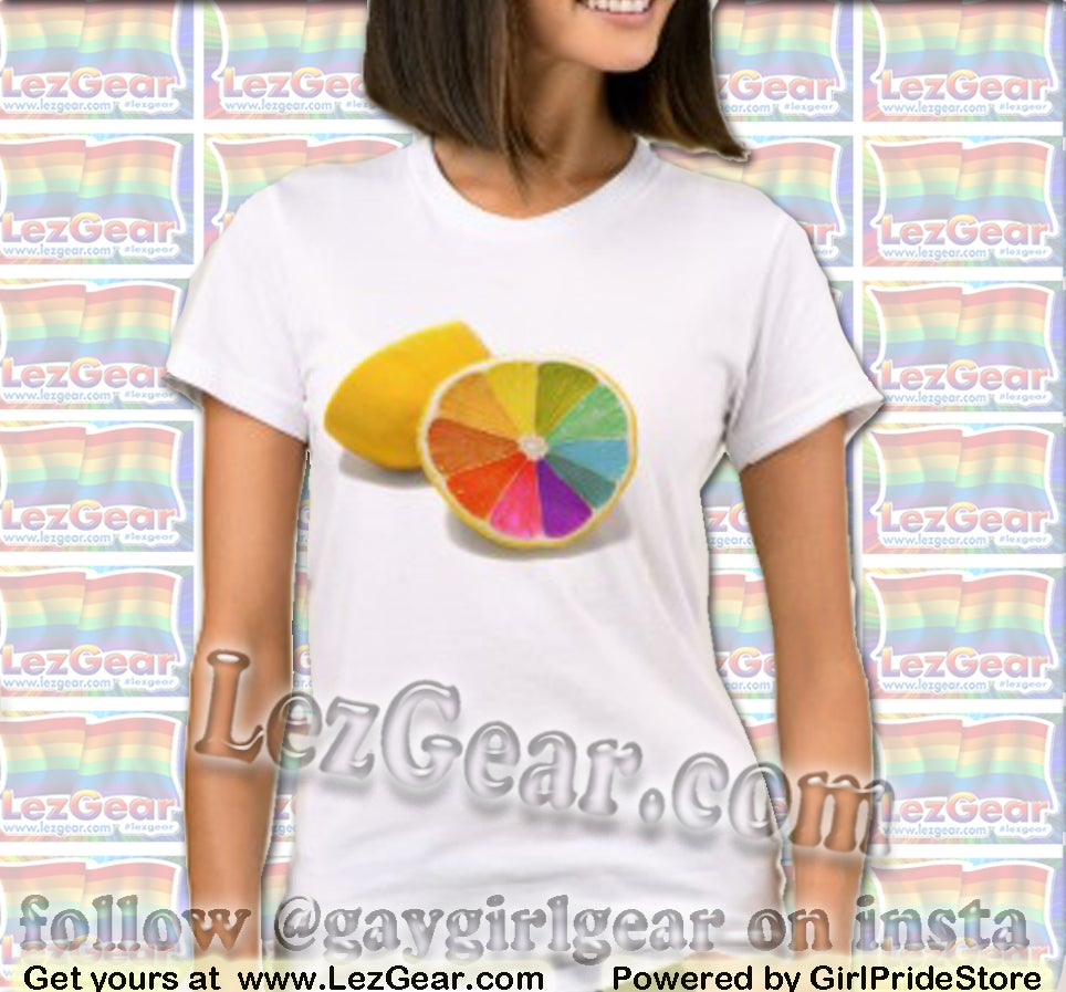 Image of Rainbow Lemon Tee