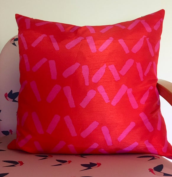 Image of Red Sprinkles Cushion Cover