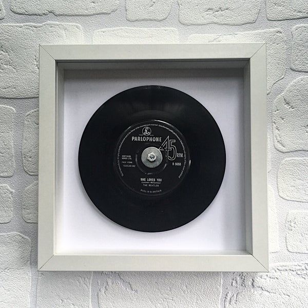 Image of The Beatles Framed 7 inch Vinyl