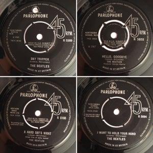Image of The Beatles Framed 7 inch Vinyl