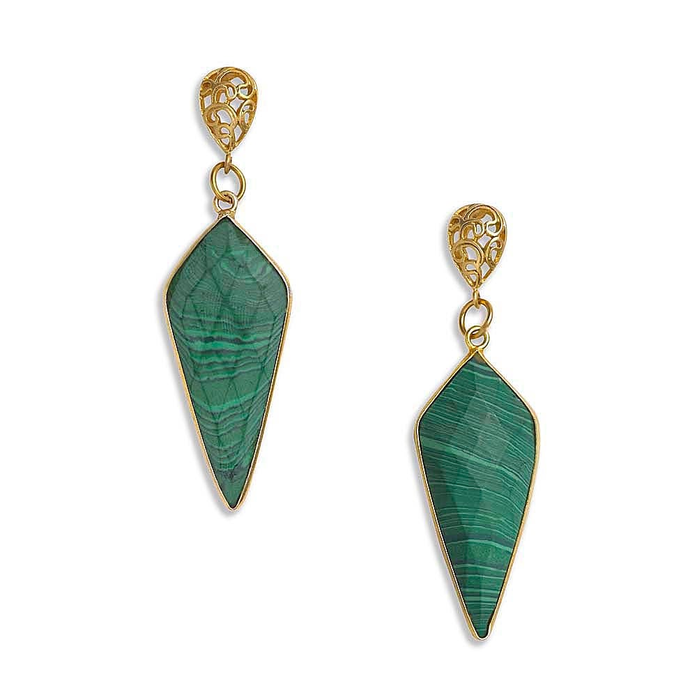 Image of MIRAGE ARROWHEAD EARRINGS