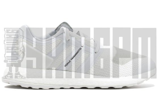 """Image of Adidas Y-3 PURE BOOST """"TRIPLE WHITE"""""""