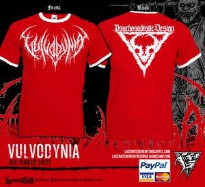 Image of VULVODYNIA - Red Ringer Tshirt