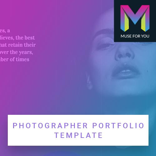 Image of Photographer Portfolio Template