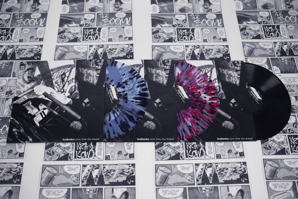 """Image of IceRocks: Live From the Bunker Black & Colored Vinyl and Poster // 12"""""""