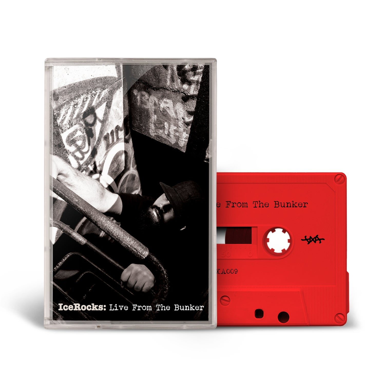 Image of Icerocks: Live From the Bunker Tape // Cassette