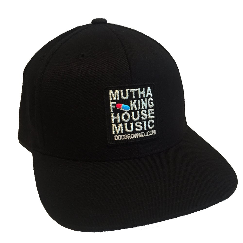 Image of MFHM Black Snapback Hat