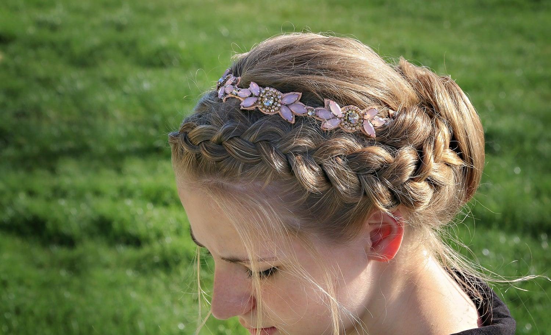 Image of Beautiful Beaded Ladies headbands, 4 STYLES