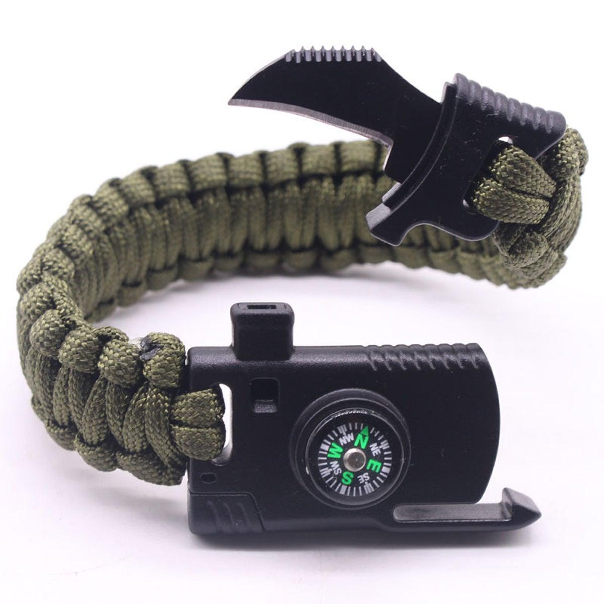 Image of Knife Multi Tool Survival Bracelet, 2 Sizes