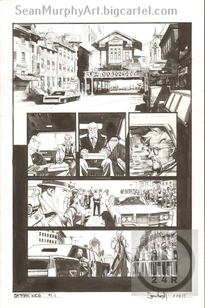 Image of Batman: White Knight #4, Page 1