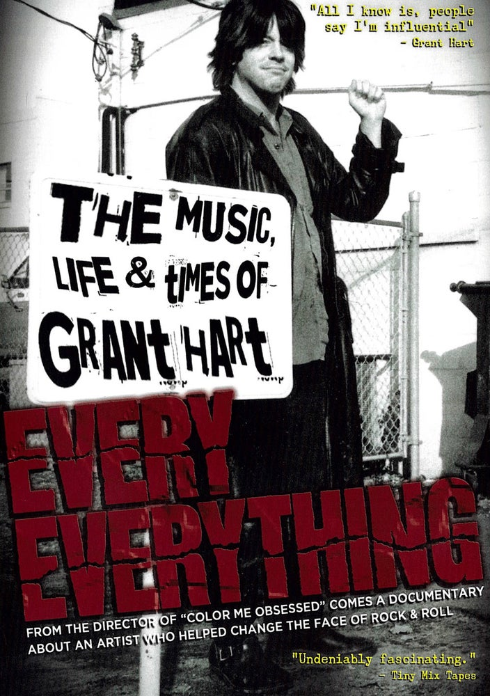 Image of Every Everything: the music, life & times of Grant Hart DELUXE DVD