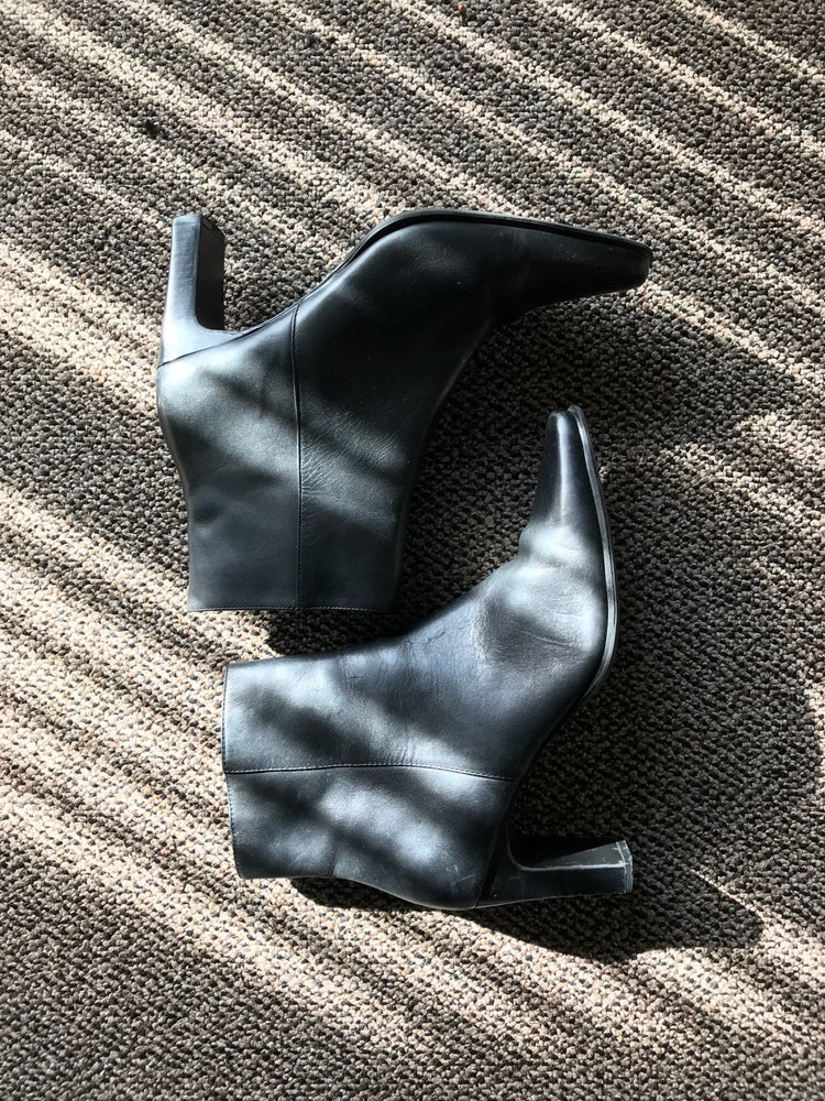 Image of Black Leather Boots
