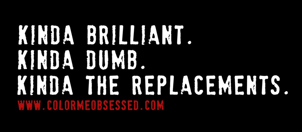 Image of Color Me Obsessed BUMPER STICKER