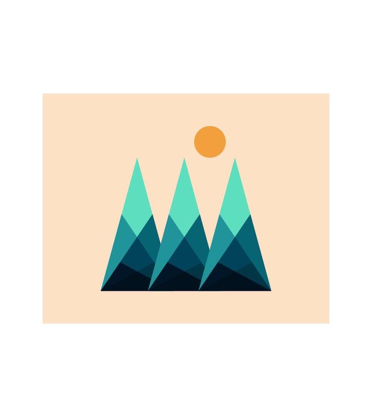 Image of Mountain Print