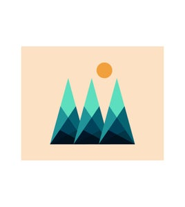 Image of Mountain Print