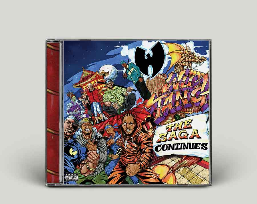 Image of Wu-Tang: The Saga Continues CD