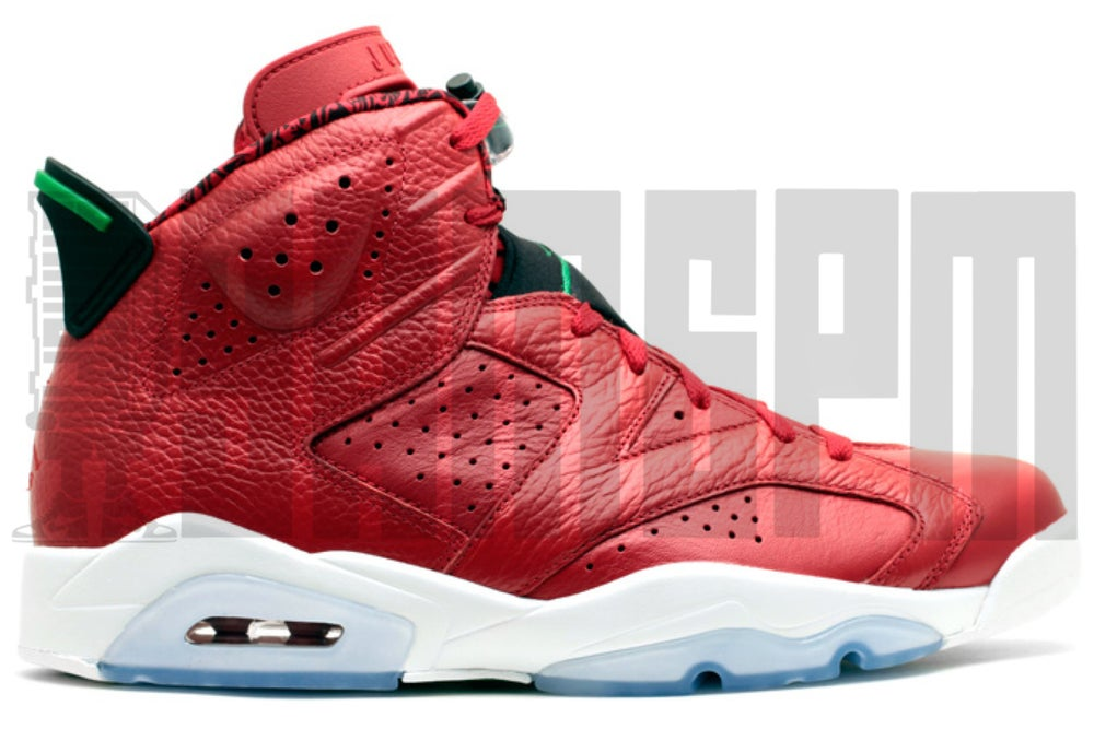 "Image of Nike AIR JORDAN 6 RETRO SPIZIKE ""HISTORY OF JORDAN"""
