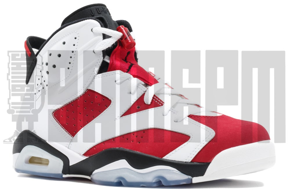 "Image of Nike AIR JORDAN 6 RETRO ""CARMINE"""