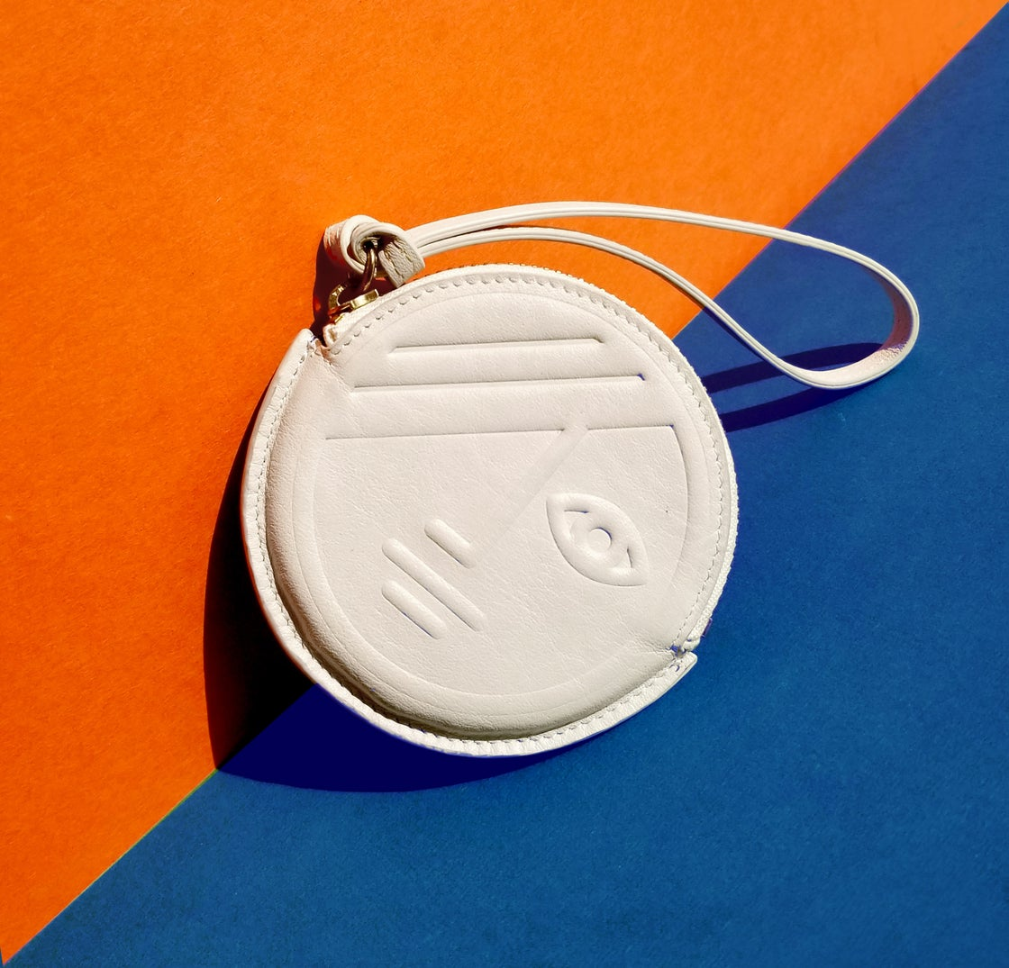 Image of Phase and Eclipse Round Coin Purse