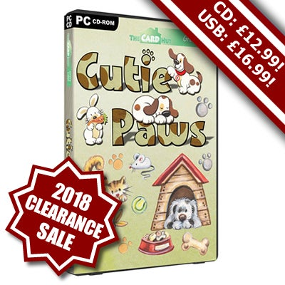 Image of Cutie Paws - Exclusive - Free UK Delivery