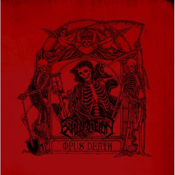 Image of Exhumation - Opus Death CD