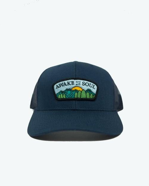 Image of Horizon Trucker Hat (Navy)
