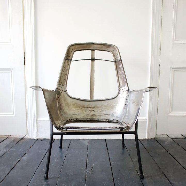 Image of Lucania Chair Frame by Giancarlo de Carlo for Arflex