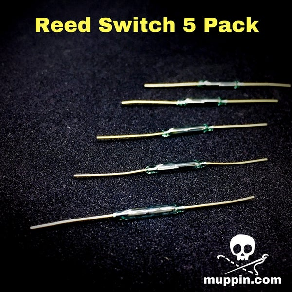 Image of NEW! 5 Pack of Reed Switches