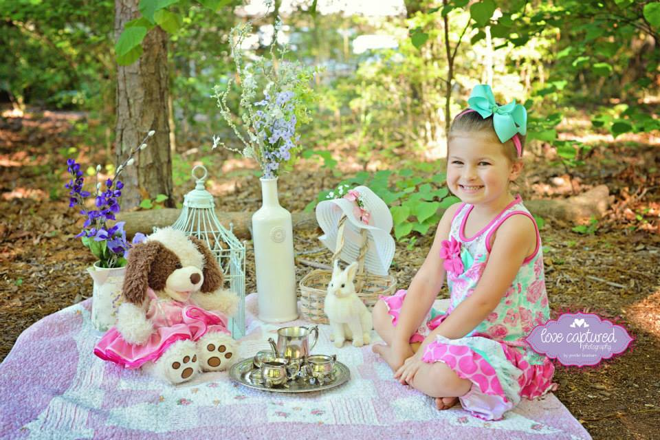 Image of 2018 Spring Tea Party Mini Session (Outdoors) ~May 20th