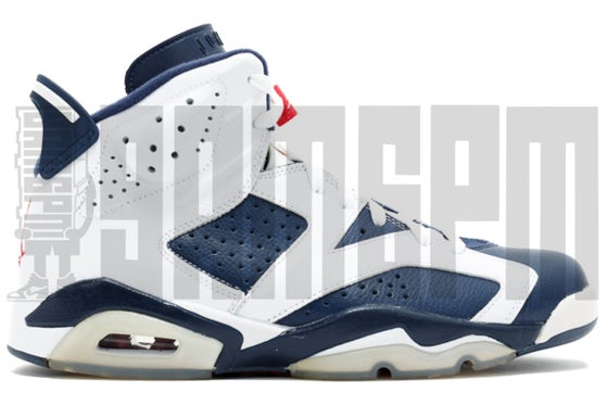 "Image of Nike AIR JORDAN 6 RETRO ""OLYMPIC"""