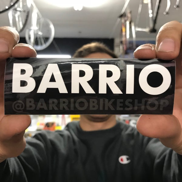 Image of BARRIO sticker