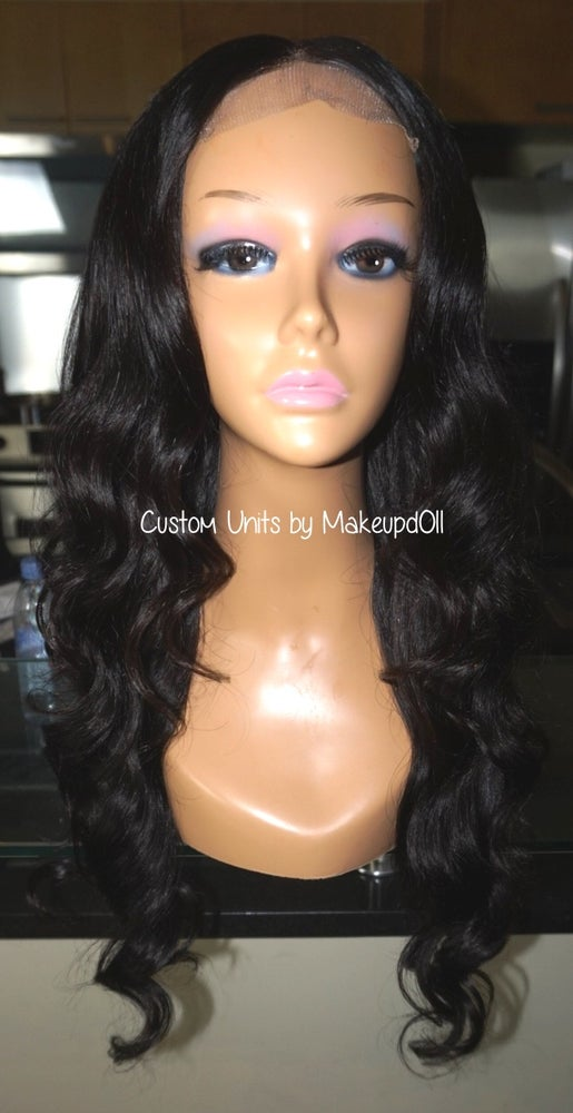 "Image of Indian Natural Wave 22"" Custom Lace Closure Wig!"