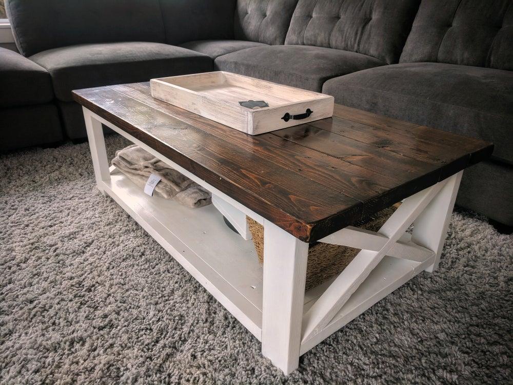 Image of Rustic Farmhouse Coffee Table