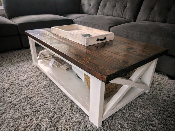 Image of Rustic Farmhouse Coffee Table