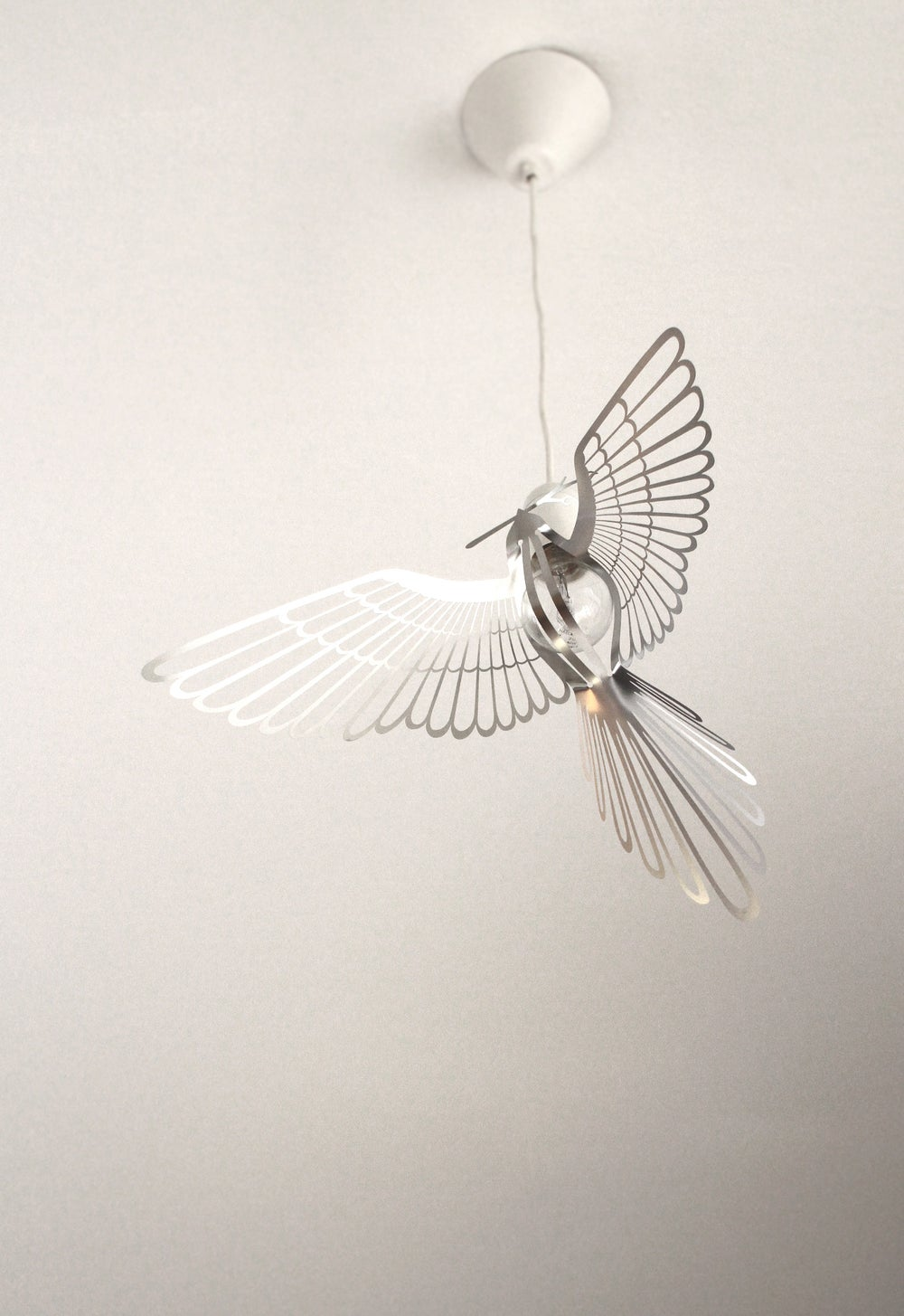 Image of BIRD LIGHT SILVER